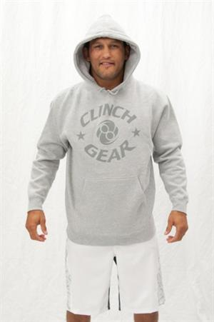 Clinch Gear Grey Hoodie